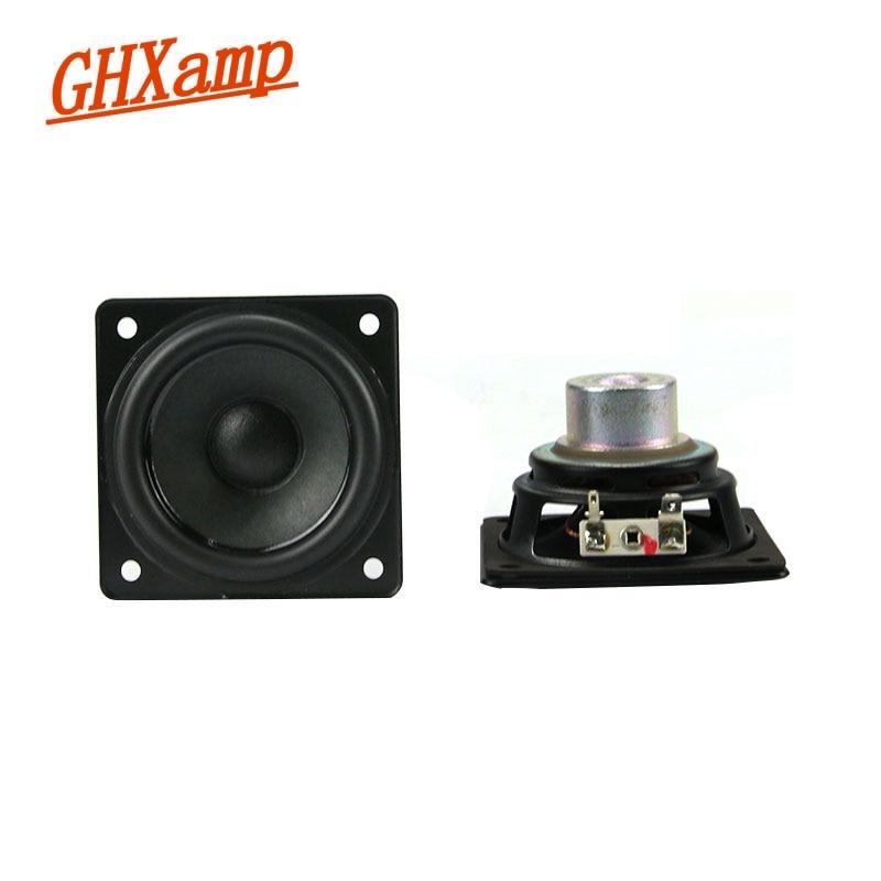 GHXAMP 2PC 3inch 8OHM 20W Woofer Bass Speaker