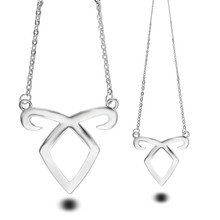 City of Bones Pendant Necklaces Angelic Power Forces Inspired by The Mortal Instruments Shadow hunters Necklace For Men Women