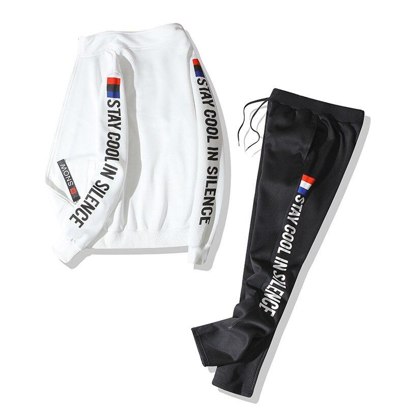 Brand 8XL 9XL Men's Sweatershirts Suit Spring Autumn New Fashion Camouflage Plus Size Casual Suit Men Sportwear BFY808