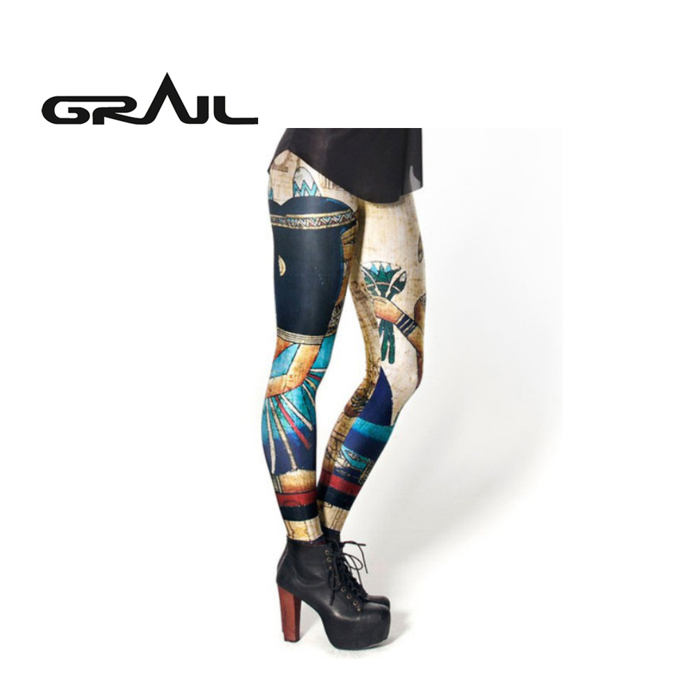 GRAIL Women 3D Print Fitness Pant Yoga Pants Leggings