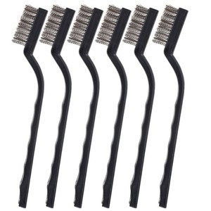 Image 4 - 12PCS Mini Rust Removal Industrial Wire Cleaning Brush Scratch Stainless Masonry Bristle Cleaning