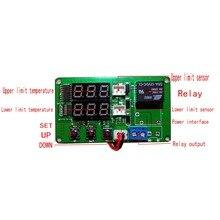 Измеритель разницы температур на солнечной батарее, контроллер разницы температур с 2 измерительными линиями