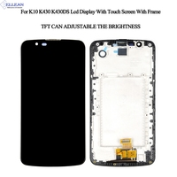 K10 TV Lcd With Frame For LG K10 Display Touch Screen Digitizer Assembly For LG K10 K430 K430DS K420N 420N LCD Screen