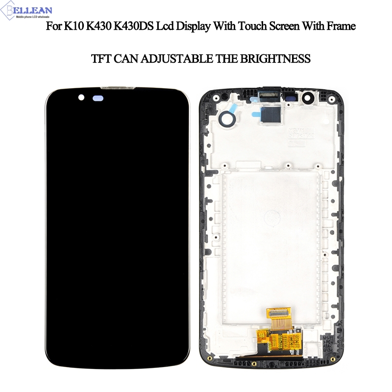 K10 TV Lcd With Frame For LG K10 Display Touch Screen Digitizer Assembly For LG K10 K430 K430DS K420N 420N LCD ScreenK10 TV Lcd With Frame For LG K10 Display Touch Screen Digitizer Assembly For LG K10 K430 K430DS K420N 420N LCD Screen