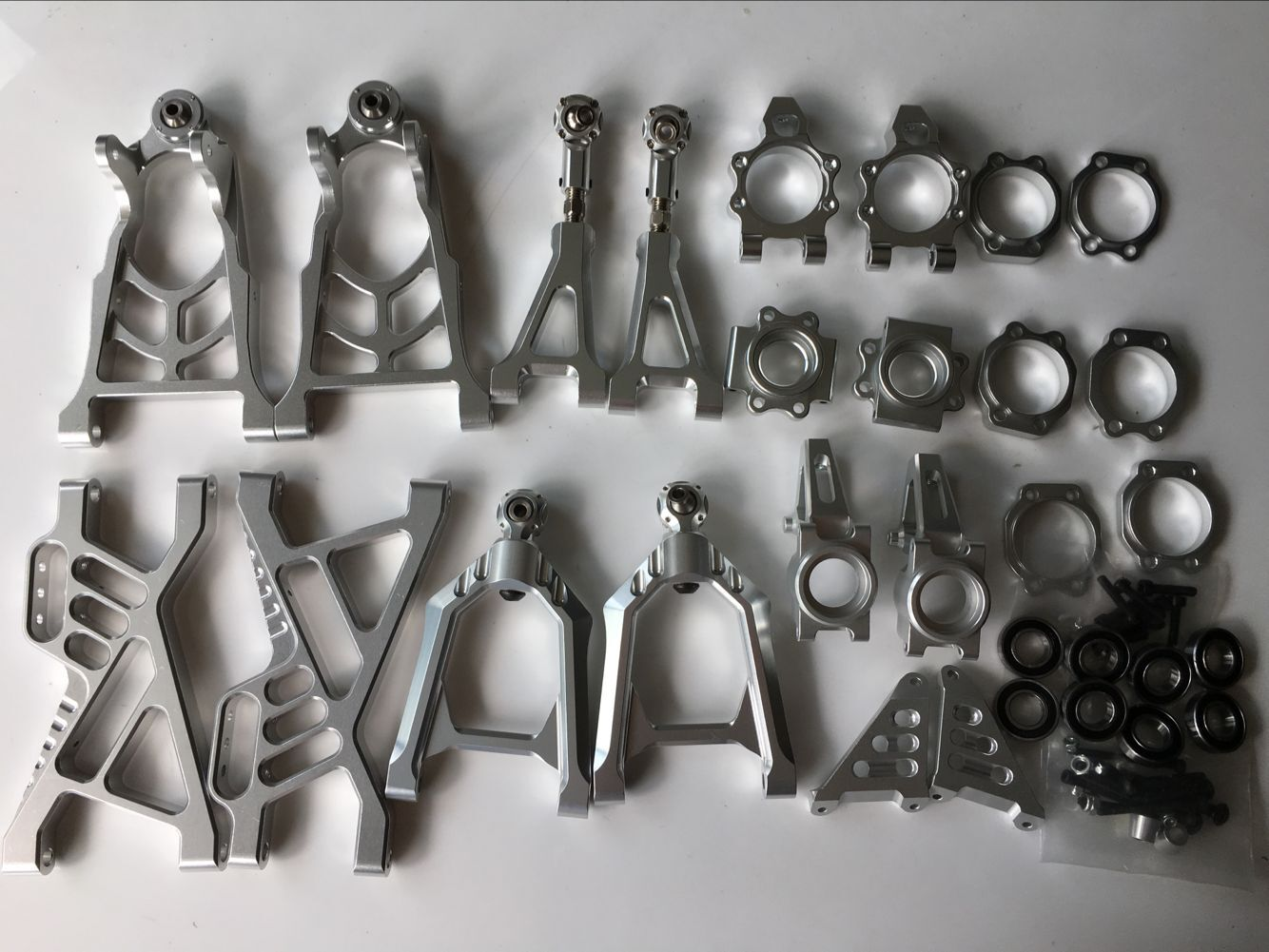 Alloy arm and hub carrier complete set for HPI ROVAN BAJA 5B  5T KM 5B T2000