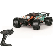 HS 1/18 2.4G 4WD 36km/h RC Car Model Proportional Control Big Foot Monster Truck RTR Vehicle Remote Toy for Kids