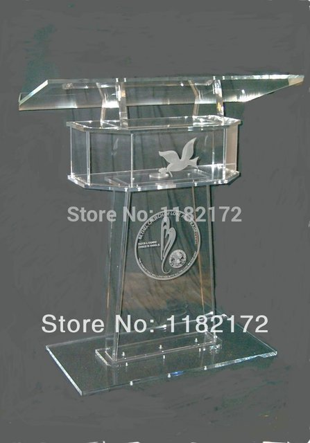 clear acrylic furniture cheap unique design hot sale and modern acrylic podium pulpit lectern cheap acrylic furniture