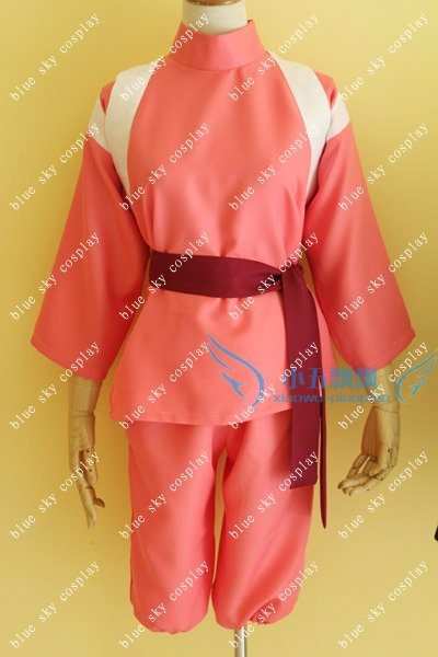 Spirited Away Chihiro Ogino Cosplay Costume Custom Any Size