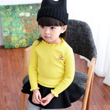 New 2017 Girls Sweaters Children's Hooded pullover sweater Boys pullover child ladies Spring & Autumn garments Kids coat for 2-8Age