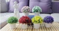 Wedding Props Fresh Flowers Potted Flower Simulation Set The Desktop Display Room Decor Home Furnishing Flower