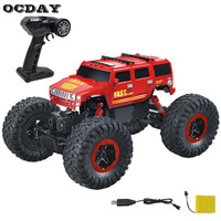 Electric Vehicles RC 1 16 4CH Off Road 2 4G High Speed SUV Damping Toy Mini