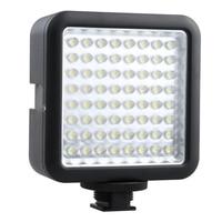 64 LED Illumination Dimming Video Light for Canon / Nikon / Pentax DSLR Camera