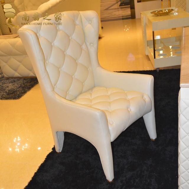 muebles italianos de diseo hogar de la alta calidad de cuero silla de comedor moderno mobiliario