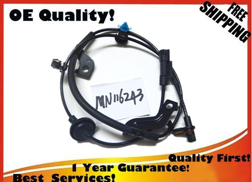 oem MN116243 Fits 07-12 for Mitsubishi Lancer Outlander Rear Left ABS WHEEL SPEED SENSOR ...