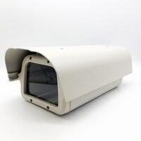 402*189*139 미리메터 회색 흰색 야외 방수 cctv 카메라 하우징 알루미늄 + abs