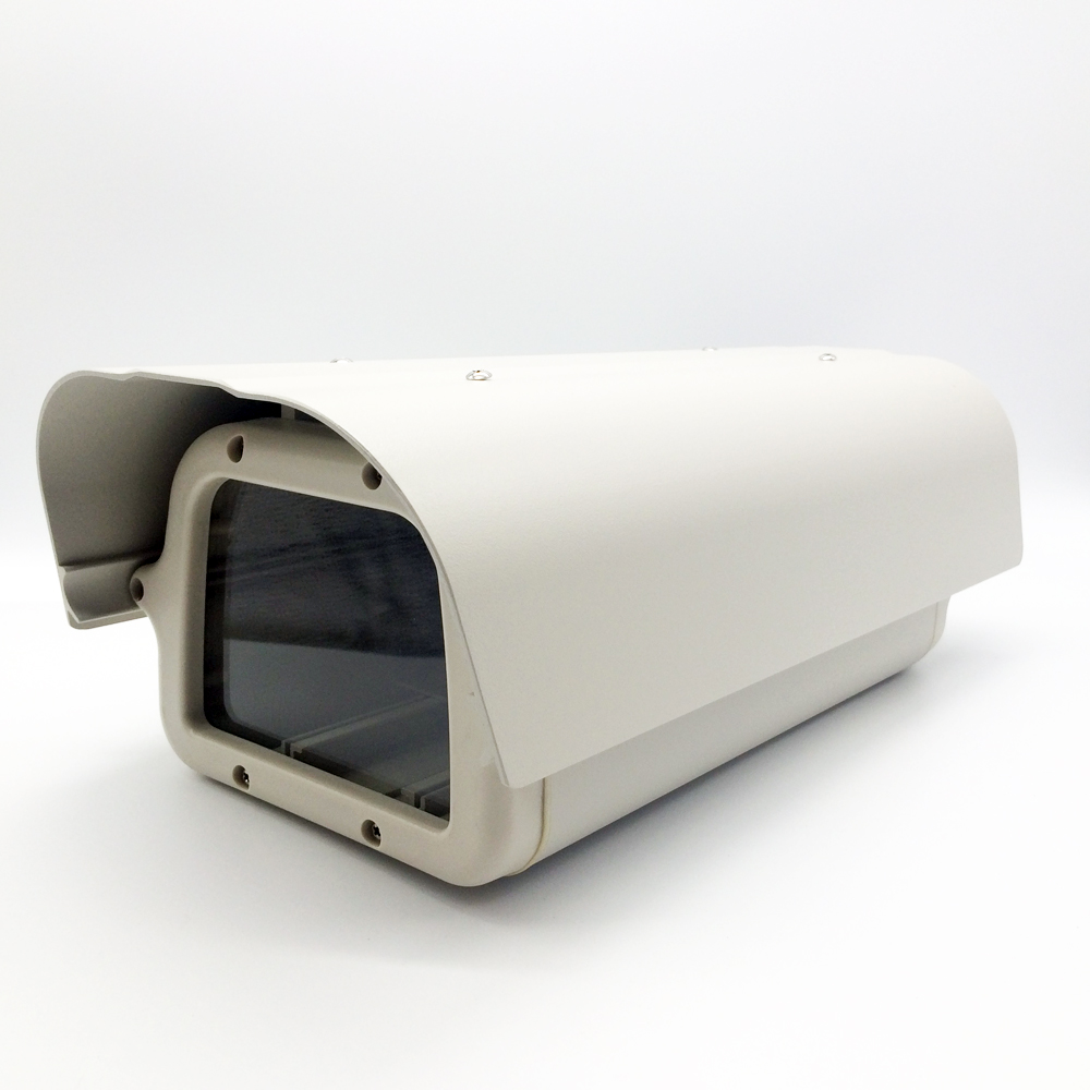 402*189*139mm Gray white Outdoor Waterproof CCTV Camera Housing Aluminum +ABS Casing for CCTV Security Zoom/ Box/ Body Camera