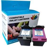 COAAP Riempito cartuccia di inchiostro per hp 123 123xl di ricambio per hp Deskjet 123 2130 2132 3630 3632 1110 1111 1112 stampante