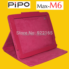 Free Shipping 2015 new Special Leather Stand Case for 9.7 inch Retina 2048×1536 pipo max m6. pipo m6 3g leather case