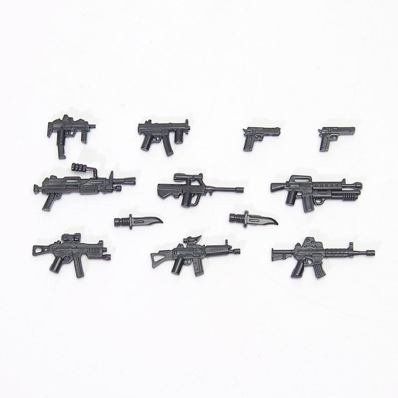 Modern Warfare moc military weapon rifle Sniper rifle Submachine gun Building Blocks Compatible legoed Toys Gift свитшот print bar modern warfare 2