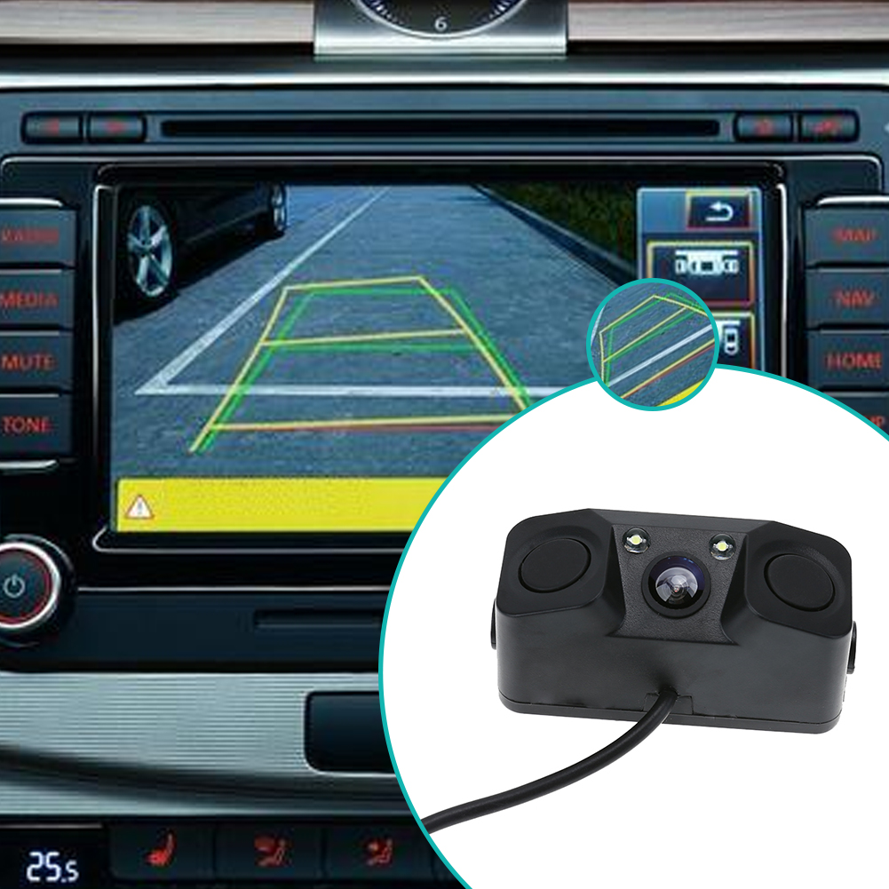 24V Reverse Parking Night Vision HD Wide View Angle Car Rear View Camera HD Video Waterproof