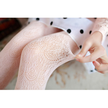 Hot! Women Sexy  Summer Autumn Hollow Tights Japanese Lace   tights