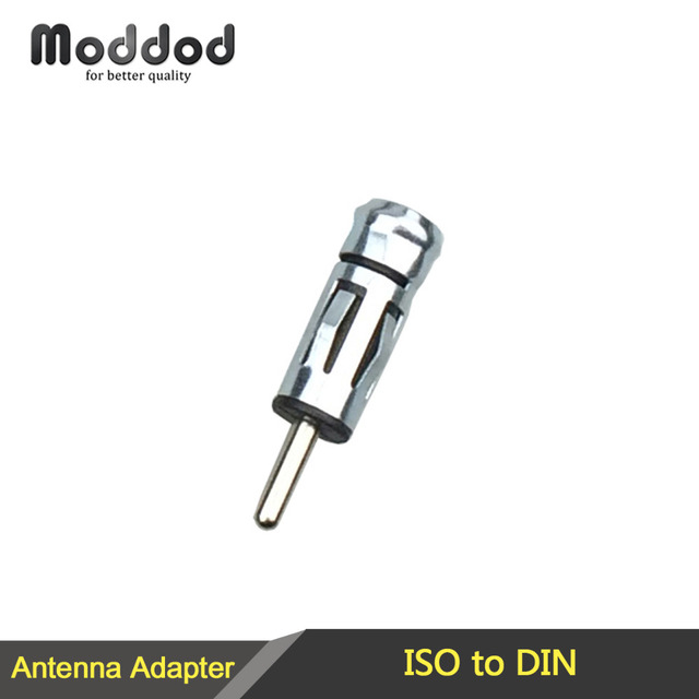 Car Stereo Radio CD Antenna Aerial Plug Adapter Connector ISO to Din Mast Adaptor