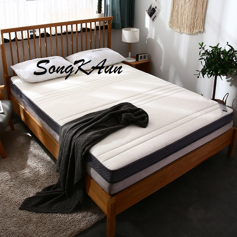 SongKAum New Fashion High Quality Thick Warm Comfortable Bedroom Furniture Memory Cotton Stereo Linear Mattress