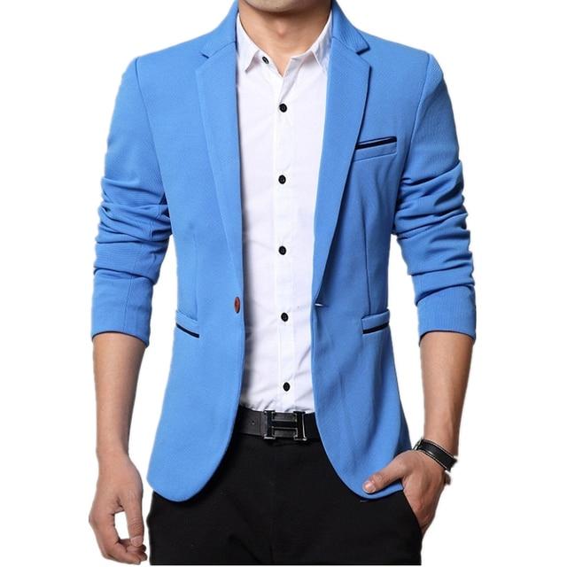 Suits men high quality Mens casual Suits Blazers slim fit Jacket fashion Blazer Coat Button suit Business men Formal suit jacket