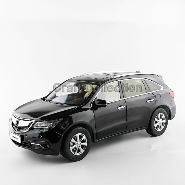 * Black 1/18 Honda Acura MDX 2014 SUV Diecast Model Show Car Miniature Toys Alloy Gifts Collection Minicar