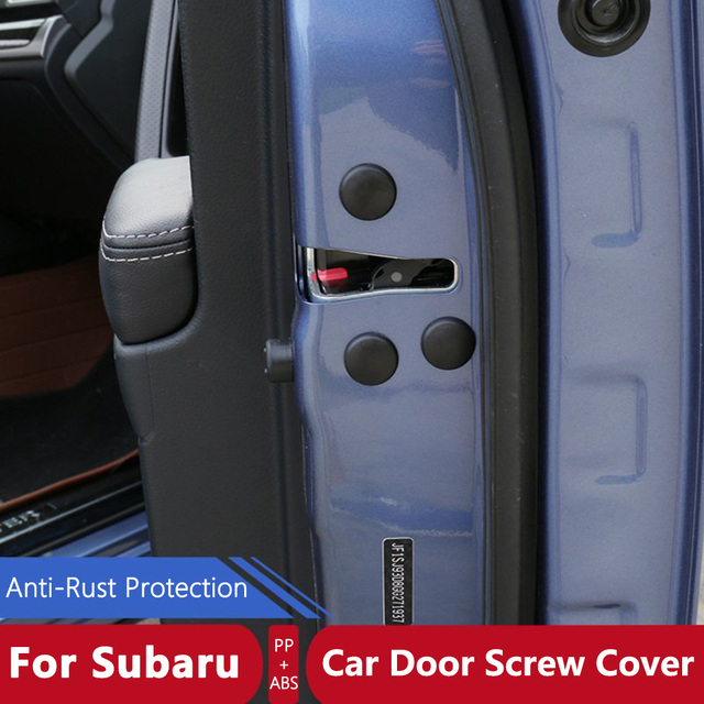 12 Pcs Set Car Door Styling Screw Protective Cover Waterproof Door Screws Sticker For Subaru Forester : subaru door - pezcame.com