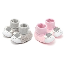 Infant First Walkers Toddler Cartoon Sock Shoes Baby Shoes 2