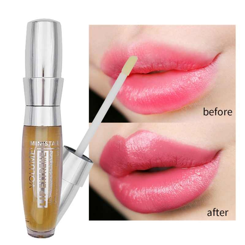 Brand Big Lips Transparent Makeup Long Lasting Waterproof Moisturizer Sexy  3D Woman Lip Plumper Extreme Gloss Maquiagem