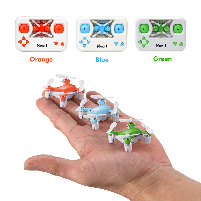 Toys & Hobbies Dwi Dowellin X1 Rc Mini Pocket Small Drones Rc Quadcopter 3d Flip Stunt Nano Drone Toys Helicopter Aircraft Stunt Drone