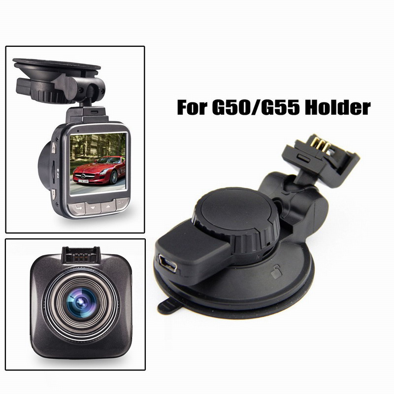 XYCING Car DVR 360 Degree Rotating Suction Cup Bracket Car Holder 3 Pin Connector for G50/G55/G52D/GS52D Car DVR Camera 360 degree rotary snake shaped wide car holder w suction cup for smartphones black