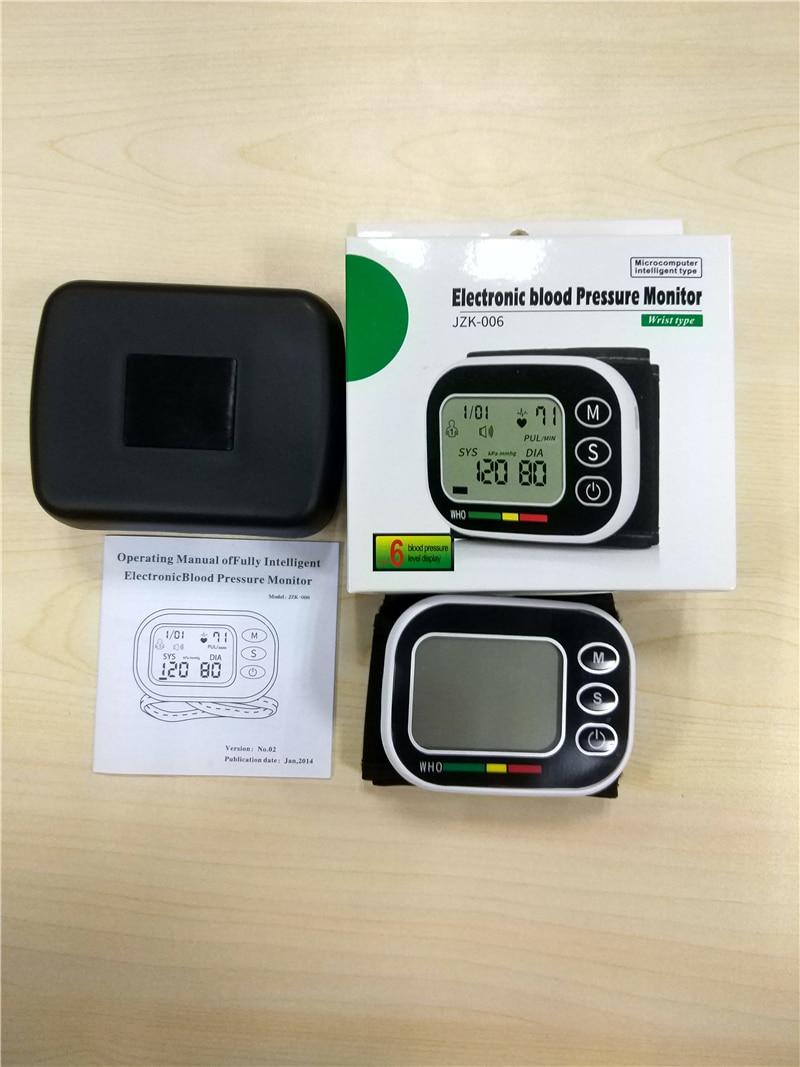Precisão Medicina de Pulso Totalmente Automático Monitor