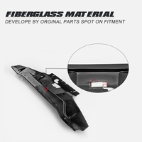 Car Accessories For Nissan S14 Early FRP Fiber Glass Cooling Panel Fiberglass Inner Engine Cover Tuning Part Drift Body Kit Trim