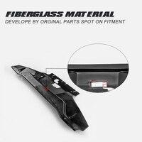 닛산 S14 초기 FRP 섬유 유리 냉각 패널 유리 섬유 내부 엔진 커버 튜닝 부품 드리프트 바디 키트 트림을위한 자동차 액세서리|어닝 & 셰터|   -