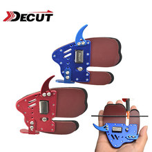 1pc Decut HOCKII  Archery Finger Guard Protection Left Hand Right Pad Tab For Protector Hunting Accessories