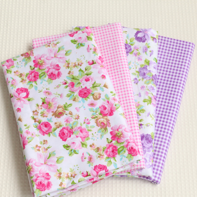 40x50 cm 4 teile/los Rose muster Twill Baumwolle Patchwork Stoff ...