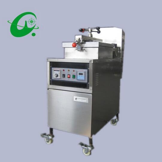 25L Manual control Electric pressure fryer(With oll pump)  deep fried chicken machine stainless steel air pressure fryer  цены
