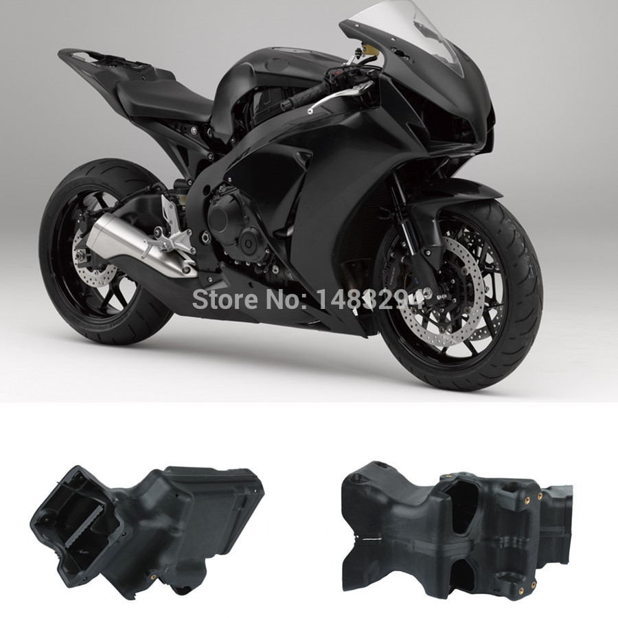 All New Black Ram Air Intake Tube Duct Fits fits for Honda CBR600RR CBR 600RR 2007-2012 new motorcycle ram air intake tube duct for suzuki gsxr600 gsxr750 2006 2007 k6 abs plastic black