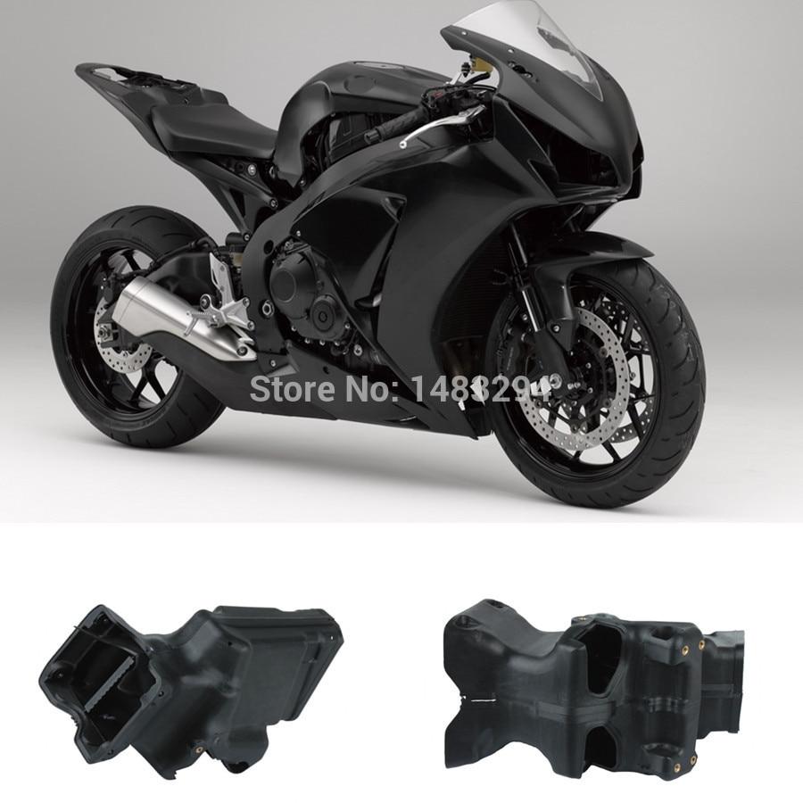 All New Black Ram Air Intake Tube Duct Fits fits for Honda CBR600RR CBR 600RR 2007-2012 ram air tube duct intake upper bracket hood screen for hond cbr600rr 2007 2012