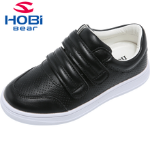 Kinderschoenen Meisjes Jongens All Black Sneakers Instappers Casual Wit Walking School Canvas Topmerk Kinderen Sneakers HOBIBEAR GS3507