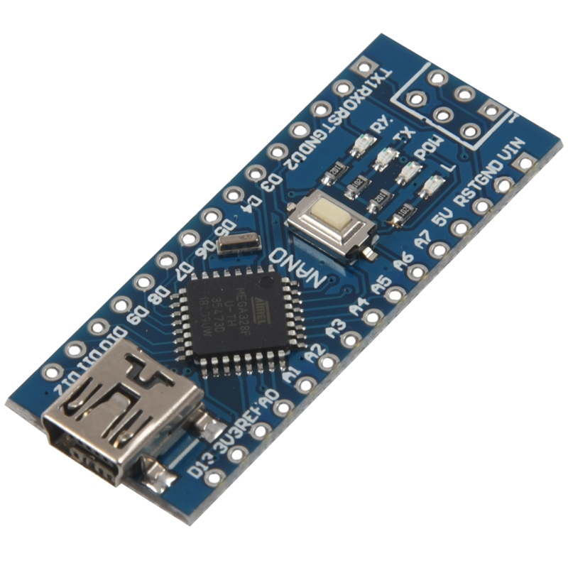 5 шт. мини USB Nano V3.0 ATmega328P 5 в 16 м мини-плата контроллера для Arduino