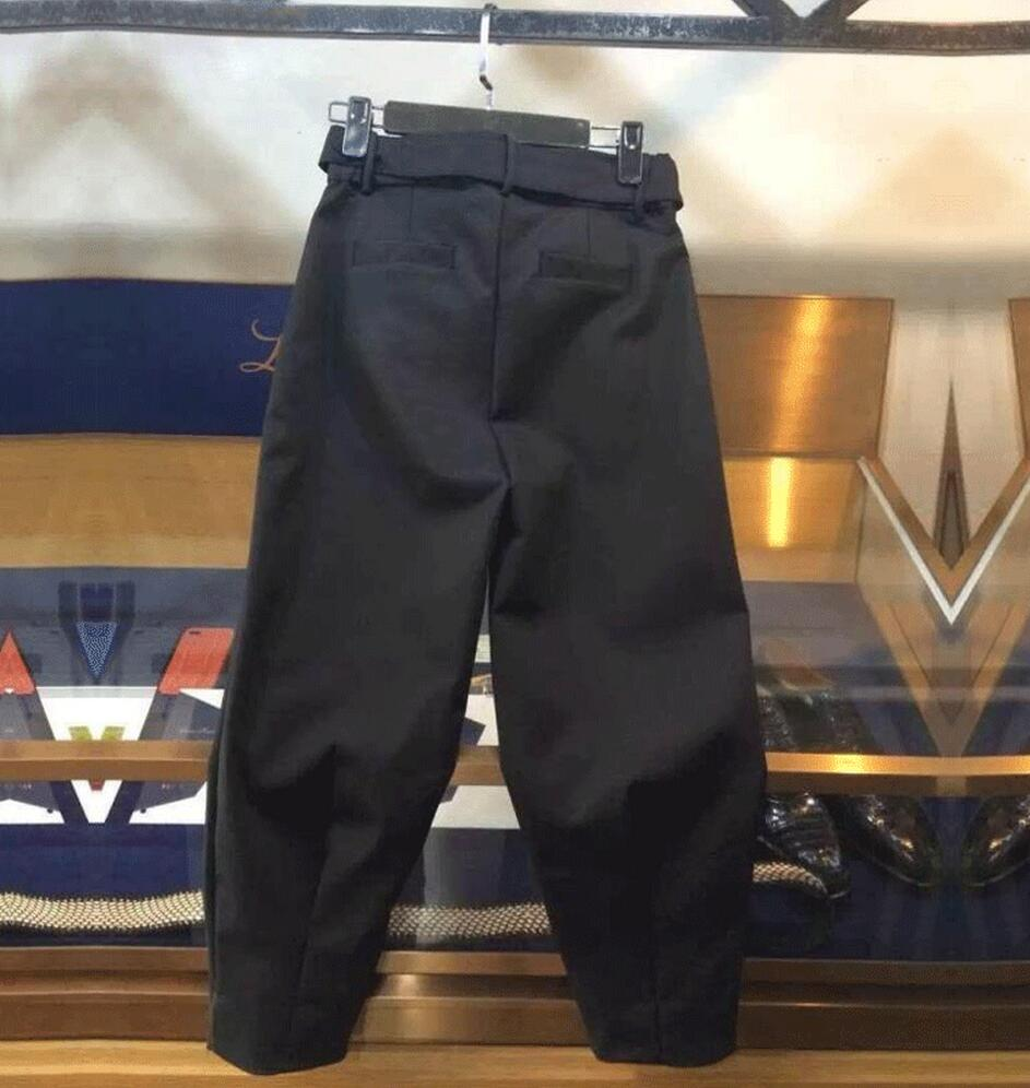 Lâche Qualité Nouveaux Pantalon 28 En Haute 2018 Cheville Costumes Longueur Nylon Occasionnels Mince Pour Taille Hommes Noir Vêtements Chanteur La De 38 Plus D'été qwZfF
