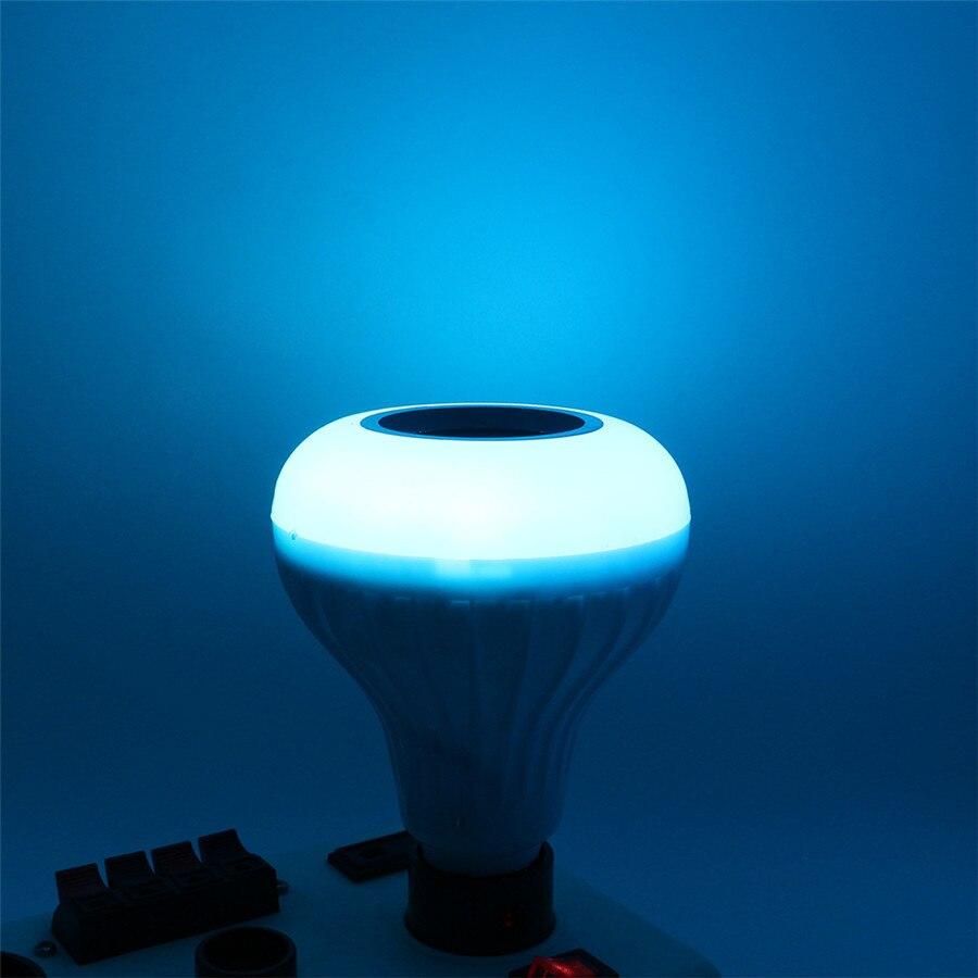 Lâmpadas Led e Tubos bluetooth speaker Áudio música tocando Color : Rgb+white