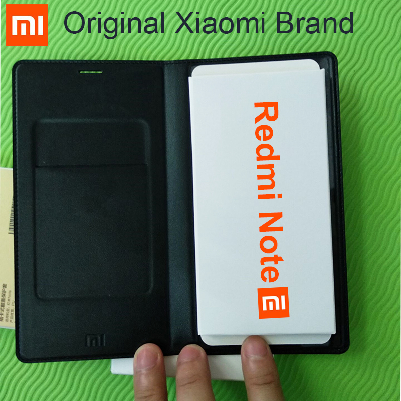 100% Original Xiaomi Redmi Note Case flip cover 5.5 inch luxury leather For Xiaomi Redmi Note 1 Cell Phone Back Cover Case-in Flip Cases from Cellphones & Telecommunications