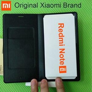 Image 1 - 100%オリジナルxiaomi redmi注ケースフリップカバー5.5 インチ高級革のためxiaomi redmi注1携帯電話バックカバーケース