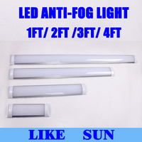 Бесплатная доставка Новый продукт 1ft 2ft 3ft 4ft Светодиодные осветительные панели 15 Вт 25 Вт 35 Вт 45 Вт поверхностного монтажа анти -туман светоди...
