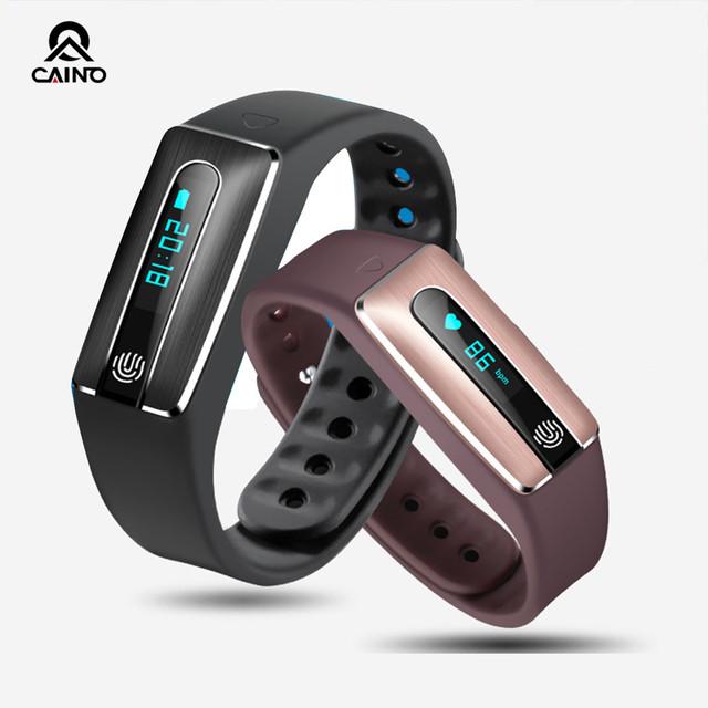 Ayuda de la función de reloj inteligente de ritmo cardíaco bluetooth v4.0 conectividad apple iphone android teléfono smartwatch envío gratis hb02
